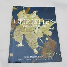 Christie's Auction Catalogue - Asian Decorative Arts 2004