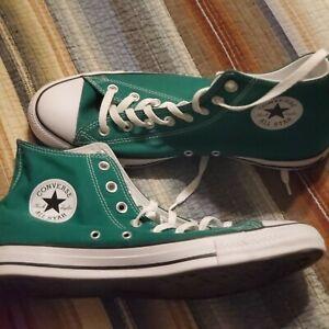 Size 10.5 - Converse Chuck Taylor All Star 70 High Green