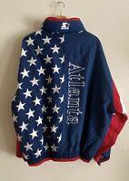 Vintage 1996 Atlanta Olympic Starter Rain Jacket Size XL FULL ZIPPER