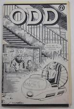 ODD  #12 1981 PIONEER COMIC FANZINE DAVE HERRING MARV WOLFMAN DOC SAVAGE