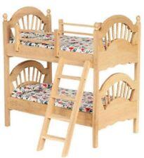 Dollhouse Furniture Bedroom Bunkbeds Ladder Unfinished T4603