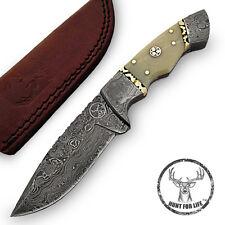 Hunt For Life™ Rift Valley Damascus Full Tang Hunting Knife