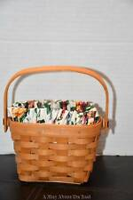 Longaberger 1997 Horizon Of Hope Basket, Liner, & Protector Great Condition
