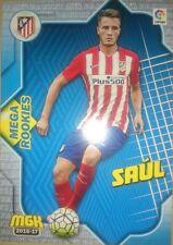 Saúl Saul Mega Rookies nº 81 Atlético Rookie Megacracks MGK 2016 2017 16/17