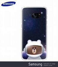 ◆GENUINE Original Samsung Galaxy S7 Edge Line Friends Edition Cover Case Bear