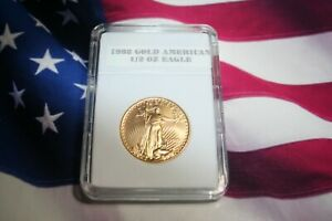 1992 1/2 Oz American Gold Eagle $25 US Gold Coin