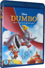 Dumbo Blu-Ray 70th Anniversary Edition Walt Disney Film Childrens DVD