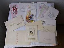Konvolut alte DDR Glückwunschkarten, unbenutzt