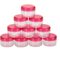 Pretty 10Pcs 5g/ml Cosmetic Empty Jar Pot Eyeshadow Makeup Face Cream Container