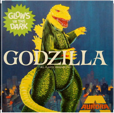 Godzilla Glow In The Dark Model Atlantis Models Reissue From Aurora Mold Presale