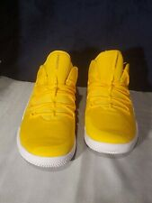 New Mens Nike Hyperdunk X Low Yellow Gold TB Basketball Shoes Size 16 AT3867 700