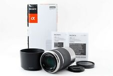 "SONY E 55-210mm F4.5-6.3 OSS SEL55210 Silver /Box for E Mount #20264 ""Exc+"""