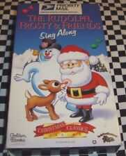 The Rudolph Frosty & Friends Sing Along Golden Books VHS f.h.e USPS 012232767231
