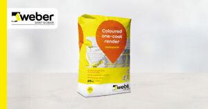 Weber Pral M Decorative One Coat Scratch Render 25kg Bags