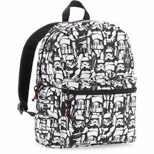 New Star Wars Stormtrooper Darth Vader Laptop Backpack Shoulder School Bag New