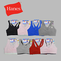 Hanes 2-Pack Comfort Flex Fit, Wire-Free Bras Available In Size S-3XL-- H570