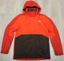 THE NORTH FACE KABRU TRICLIMATE RED BROWN - 3in1 insulated MEN'S JACKET - L