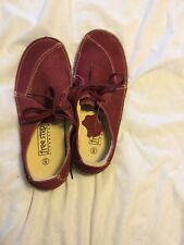 Lace Up Flat Shoes