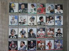 1990 Pro Set Super Bowl Mvp Collectible #1-24, 3 Complete Sets: Montana, Rice