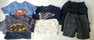 HUGE DESIGNER BOY LOT Outfits T Shirt top Shorts Gap Kids Junk food Boutique 4