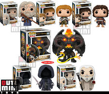 FUNKO POP MOVIE LORD OF THE RINGS BALROG NAZGUL GANDALF SARUMAN SET OF 6 FIGURES