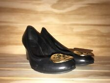 Tory Burch Wedge Black Sz 6 Sally Shoes
