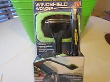 Windshield Wonder as seen on TV fog moisture cleaning fast & and easy NEW handle