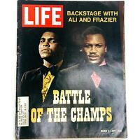 Life Magazine March 5 1971 Battle of the Champs Ali & Frazier, Lieutenant Calley
