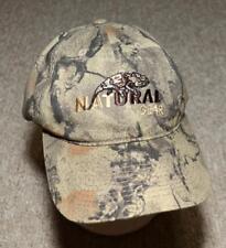 Natural Gear Hunting Camo Manufacturer Company Logo Ballcap Hat