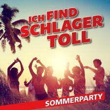 ICH FIND SCHLAGER TOLL-SOMMERPARTY   CD NEU