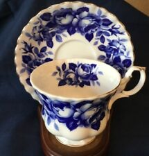 Royal Albert Connoisseur  in the Gainsborough shape 4484 TEA CUP AND SAUCER