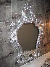 Exklusiver Wandspiegel Repro ANTIK BAROCK Spiegel Silber 50X76 Wanddeko 118  4