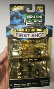 Johnny Lightning Frightening Lightning DRAG-U-LA First Shot 2-Pack Cars