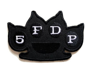 5FDP Five Finger Death Punch Rock Metal Music Iron on Sew on Patch Jeans