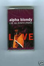 CASSETTE TAPE NEW ALPHA BLONDY LIVE AU ZENITH (PARIS)