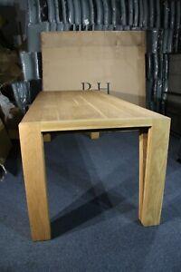 Restoration Hardware - Solid Oak Dining Table