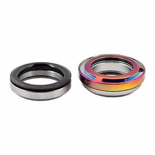 "Snafu Fontanel 1 1/8"" Integrated BMX Headset for 45/45 Jet Fuel Oil Slick"