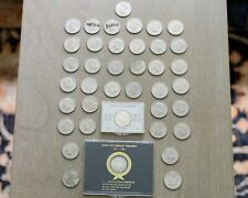Lot of 39 Rare coin American currency Kennedy Half Dollar coins