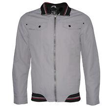 Мужская куртка на молнии повседневный молнией спереди на пуговицах карманы приталенная milj - 608