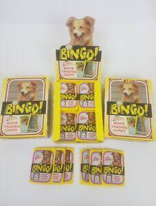 Three 1991 Pacific BINGO! Movie Trading Card Boxes - Each Box Contains 36 packs