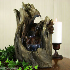 Water Fountain - Cascading Caves Indoor Electric Tabletop Fountain & LED Lights