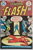 The Flash #234 VF- 7.5 DC Comics 1975 Bronze Age Classic Green Lantern Story