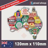 Aussie Beer Brands Sticker Decal Straya Funny Bogan JDM Car Ute 4x4 Tool Box