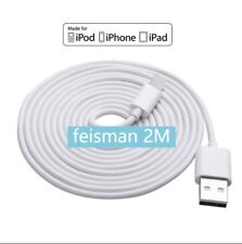 2M Long Cable for iPhone 7 Plus 6s 6Plus Charging Data Cord Premium Quality