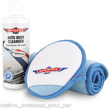 Bowden's Own Auto Body Cleanser Microfibre Pack Cleaner Mothers Meguiars Show GT