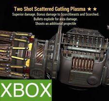 TSE GATLING PLASMA TWO SHOT EXPLOSIVE GAT PLAS LEGACY WEAPON PVP META XBOX 76