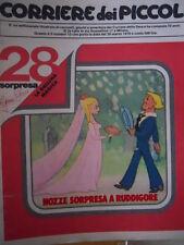 Corriere dei Piccoli 13 1978 fumetto HEIDI - Diario di Stefi   [C20]