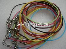 """Seda Mix 18 """"Collar Color Cuerdas + Bead resultados Joyas Colgante Cable De 20"""