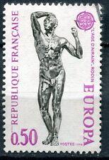 FRANCE TIMBRE OBL N° 1789 EUROPA L AGE D AIRAIN DE RODIN