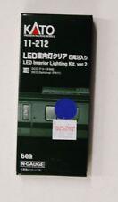 N Scale Kato 11-212 * LED Interior Lighting kit, ver.2 6-PACK